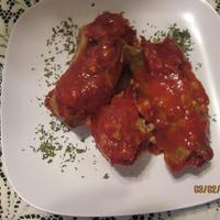 Involtini di cavolo ( Stuffed Cabbage)