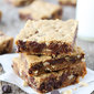 Brown Butter Chocolate Chip Hazelnut Cookie Bars