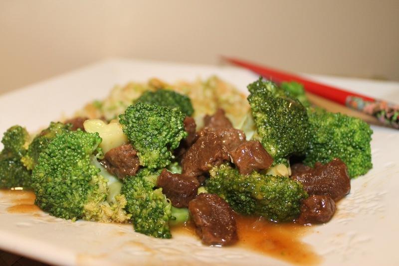 The Very Best Vegan Beef & Broccoli w/ Broccoli Slaw Fried Rice