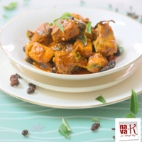 Masala Raisin Chicken