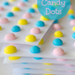 Homemade Candy Dots [& Hearts]