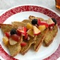 Insanely Easy Vegan French Toast