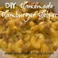 "DIY: Homemade ""Hamburger Helper"""