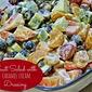 Fruit Salad with Caramel Cream Dressing