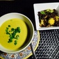 Coconut Curry Squash Soup With Roasted Brussel Sprouts