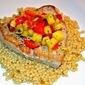 Seared Tuna over Couscous