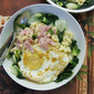 Ham and Macaroni Soup, with Egg 港式火腿通心粉