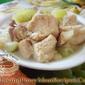 Nilagang Liempo with Upo (Pork Belly with Bottle Gourd)
