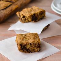 Chewy Whole Grain Chocolate, Date, and Walnut Bars