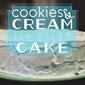 Vanilla Bean Cookies & Cream Ice Cream Cake (Dairy Free)