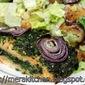 Cilantro Salmon Bake
