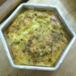 Mushroom and Chicken Quiche