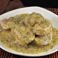 Pork Tenderloin with Mustard and White Wine Sauce, the dreaded phone call