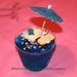 Blue Jello Island Dessert