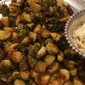 Roasted Brussels Sprouts with Roasted Garlic Aioli Appetizer