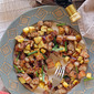 Pork Belly and Sweet Potato Hash