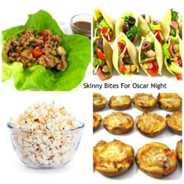 Skinny Bites for Oscar Night