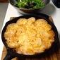 Meat Mushroom and Potato Skillet Gratin