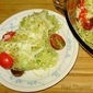 Broccoli Pesto and Tomato Baked Spaghetti Squash