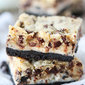 Oreo Cheesecake Cookie Dough Bars
