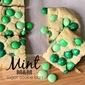 Mint M&M Sugar Cookie Bars