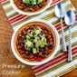 Pressure Cooker Mexican Beans with Avocado-Poblano Salsa (Vegan)