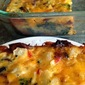 Bacon, Spinach, Cheese and Potato Bake
