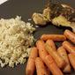 Chicken Thighs with Garlic-Cilantro Sauce