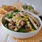 Salad with Black beans & Corn and Citrus Blasamic Vinaigrette
