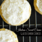 Italian Sweet Creme Glazed Lemon Cookies #ExtraSweetCreamyCGC