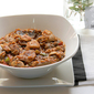 Chicken with Mushroom and Brown Lentils