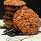 Honey Walnut Oatmeal Cookies
