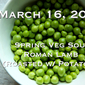 LIVE from ITALY Online Cooking Class: Prep for Easter with Spring Veg Soup & Roasted Lamb