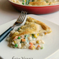 Easy Vegetable Pot Pie #PiDay