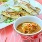 Grilled Fish With Taucheo Chili Dip