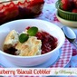 Stawberry Biscuit Cobbler #SavetheBiscuit