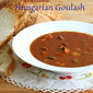 Traditional Hungarian Goulash (Gulyas)