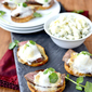 Steak Crostini with Bleu Cheese Marshmallows + $100 VISA Gift Card Giveaway!