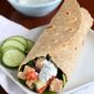 Low-Fat Greek Chicken Salad Wrap Recipe