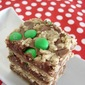 Fudgey M&M Oat Bars