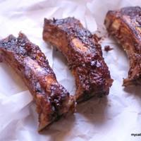 Balsamic Glazed Beef Ribs