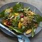 Wheat Berry, Baby Kale, Grape, and Orange Salad