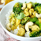 Cashew Chicken Coconut Curry (20 Minute Meal!) + 31 Meals Cookbook Giveaway!