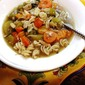 Chicken Vegetable Soup With Pasta - GF