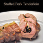Parsley and Olive Stuffed Pork Tenderloin
