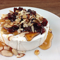 Baked Brie with Honey & Almonds