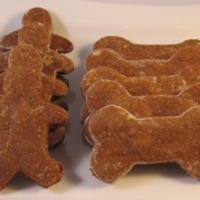 Canine Gingerbread Biscuits