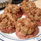 Mom's Pinwheels (Stuffing topped burgers)