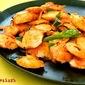 Fried Mini Idlis with Tomato Sauce