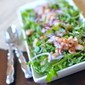 Arugula and White Bean Salad with Honey Balsamic Vinaigrette
